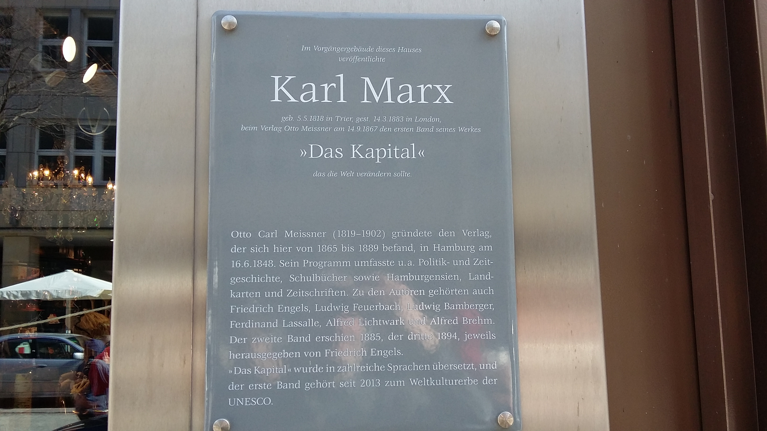 A hypothetical conversation between karl marx