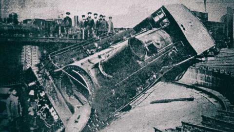 Tiflis Eisenbahnstreik