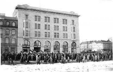 Generalstreik in Helsinki 1917