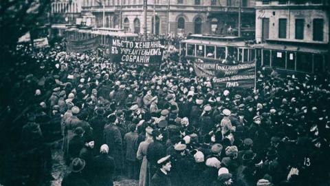 Den Frauen einen Platz in der Konstituierenden Versammlung! Februar 1917