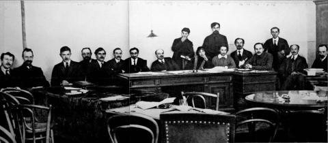 Rat der Volkskommissare 1918