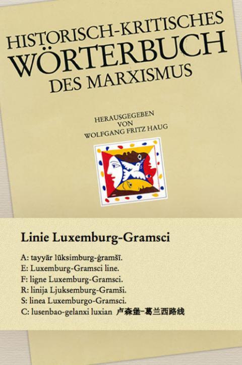 HKWM – Linie Luxemburg-Gramsci