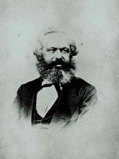 Marx-Porträt
